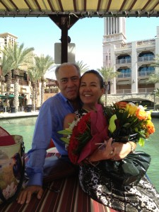 Gloria Belendez Ramirez and Ibrahim, her husband