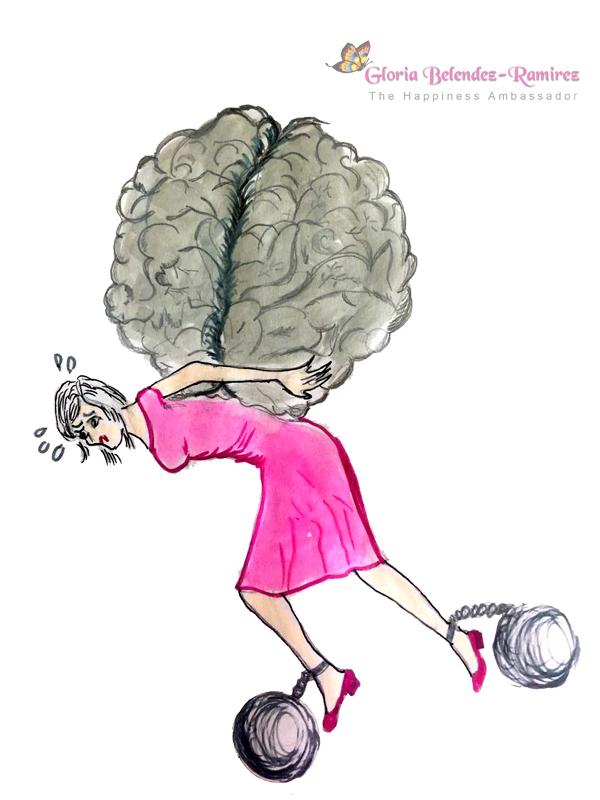 Pensar negativo te esclaviza a malos humores, juzgar y criticar...